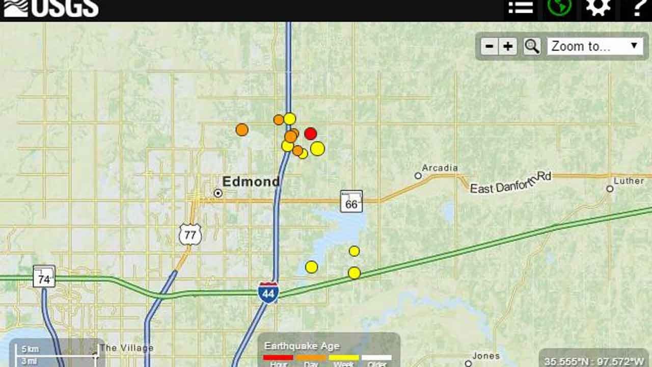 Edmond Continues To Be Jolted By Aftershocks