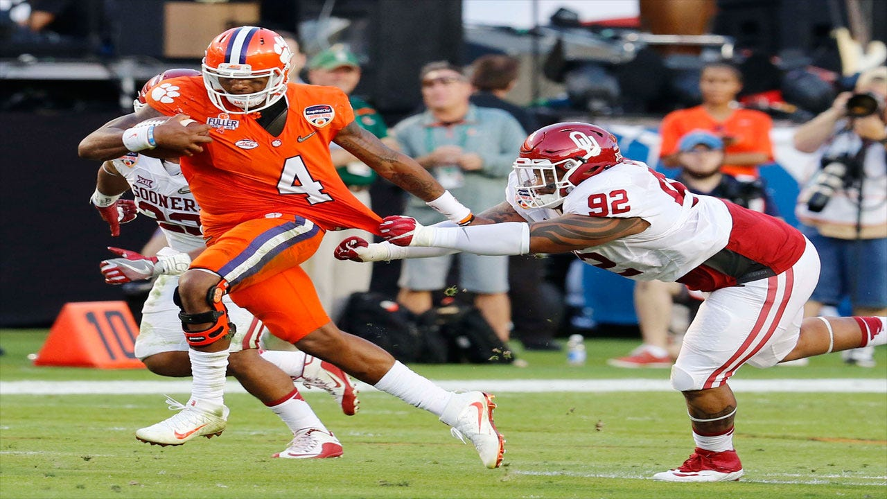 Clemson Runs All Over Oklahoma To Win Orange Bowl