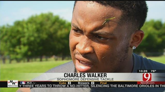 Sooners' Charles Walker Out For Orange Bowl Due To Concussion