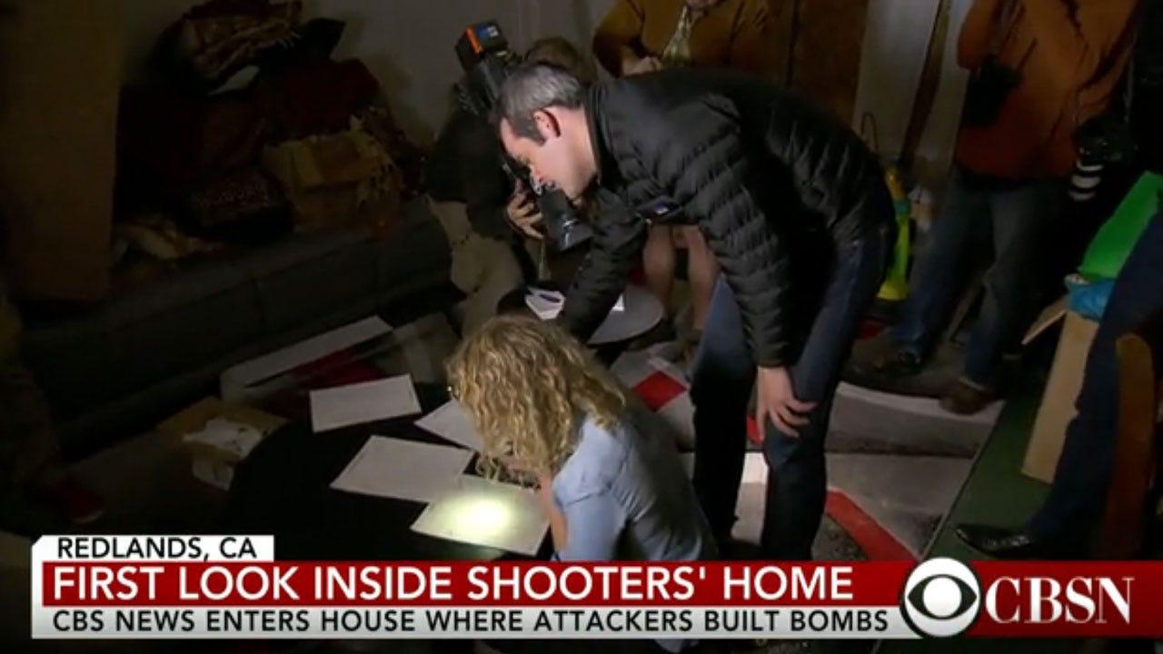 CBS News Goes Inside San Bernardino Shooters' Home
