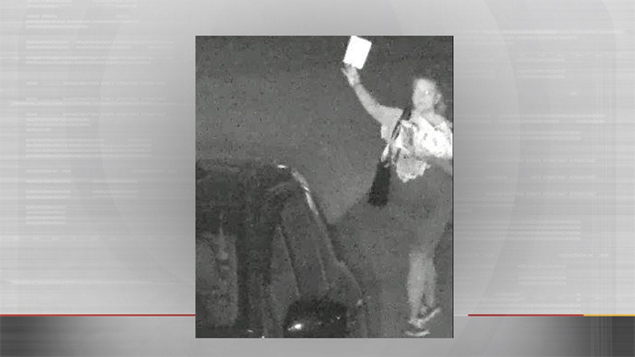 OKC Police Seek Woman Caught On Camera Stealing Mail