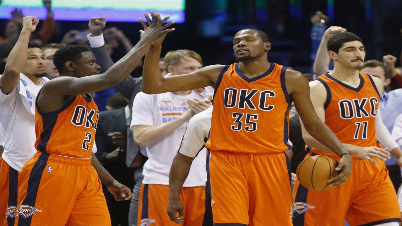 King Kevin: Durant Flashes Clutch Gene As OKC Slides By Sacramento