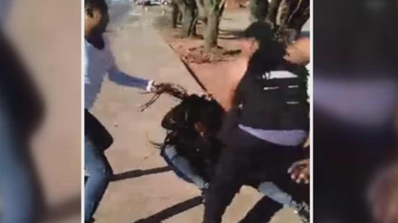 Del City PD Investigate After Facebook Video Shows Beating Of Young Mother, Good Samaritan