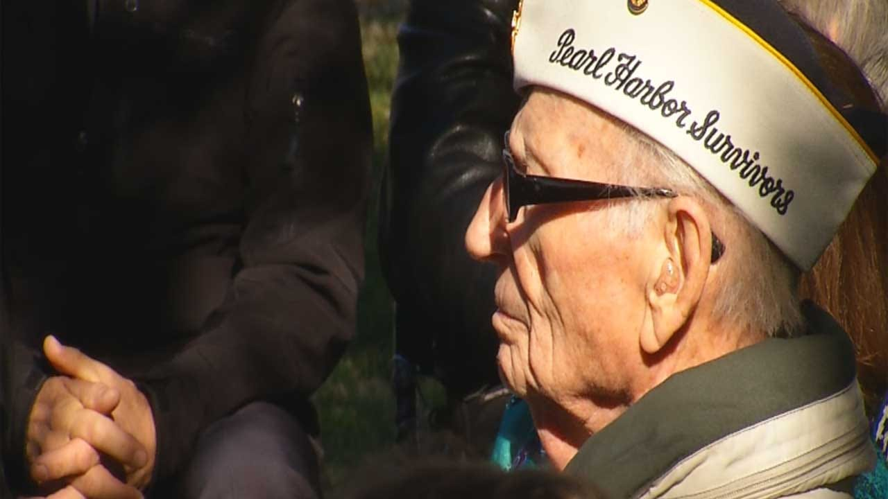 Pearl Harbor Survivors Join Others For Remembrance Ceremony