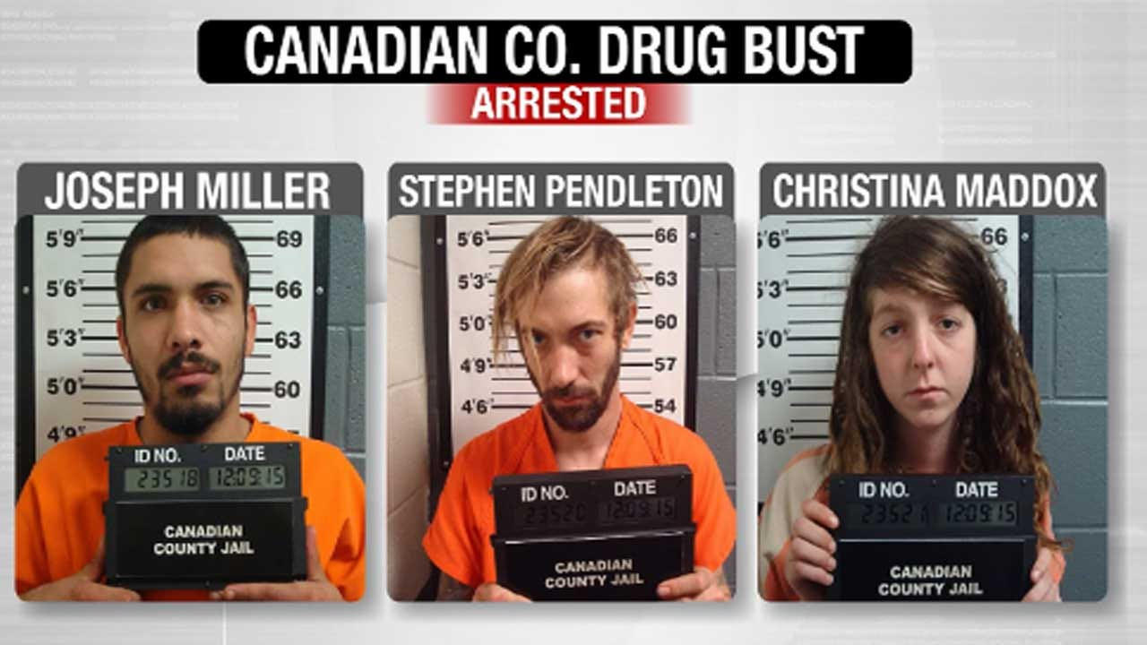 Canadian County Sheriff's Office Makes 'Shatter' Arrests