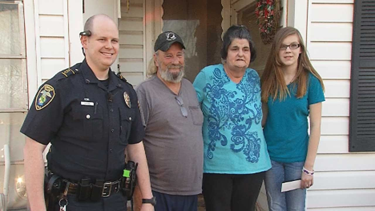Harrah Police Pull People Over For Big Surprise