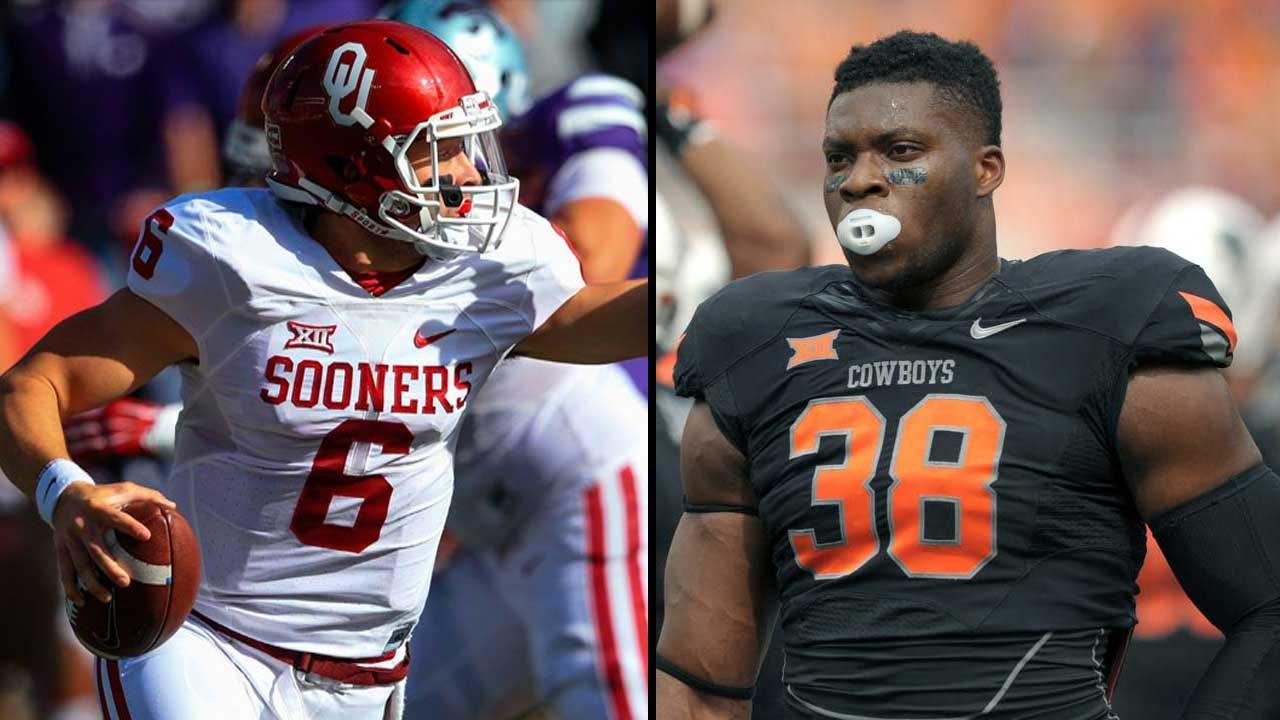 Sooners, Cowboys Litter All-Big 12 Teams