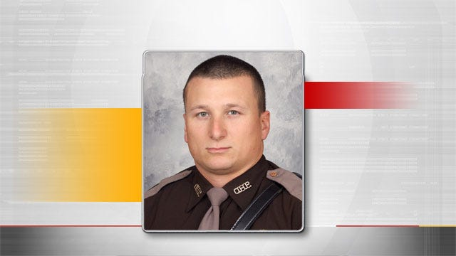 Oklahoma Authorities Honor Trooper Who Died In The Line Of Duty