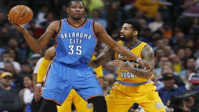 Mountain Man: Durant Drops 40 As Thunder Smokes Denver