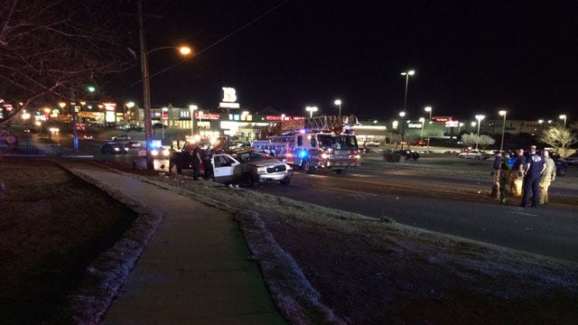 SUV Flips Three Times In Rollover Near NW 59th & May