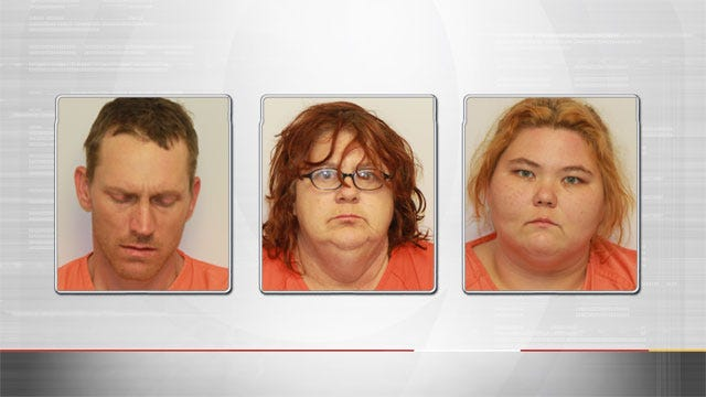 Three Arrested In Guthrie On Burglary, Drug Possession Complaints