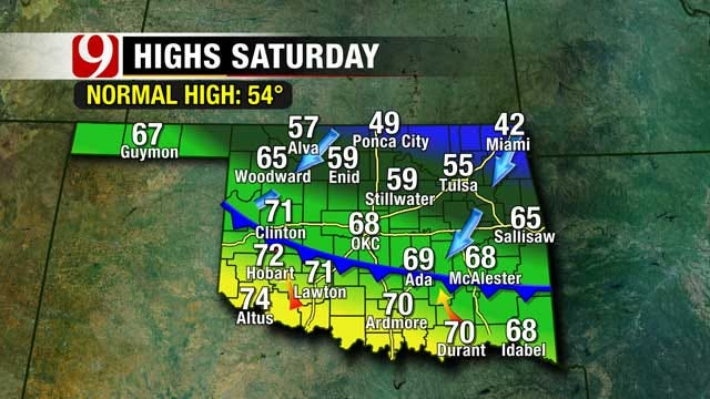 Cool Weather Returns To Oklahoma