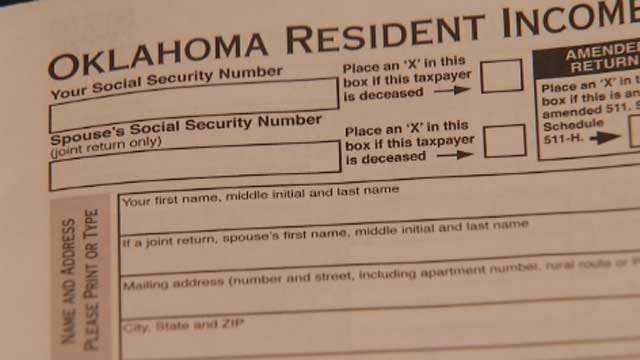 Oklahoma Police Warning Of Tax Return Scam