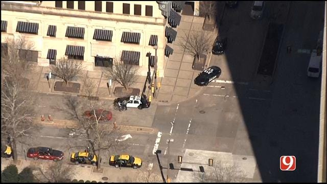 Police Say Bomb Threat In Downtown OKC Was 'Bogus'