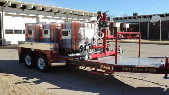 Company Donates Foam Trailer To Del City Fire Department