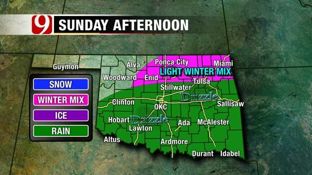 One More Spring-Like Day For Oklahoma, Winter Returns Sunday