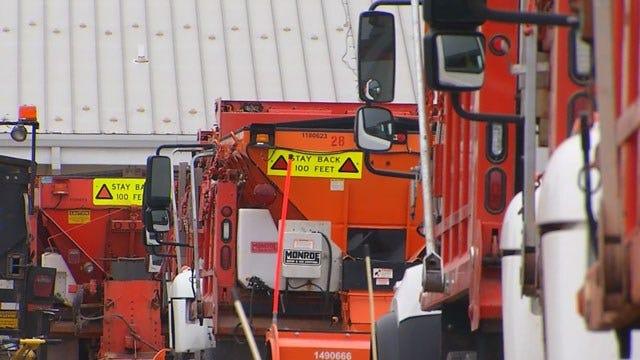Metro Salt Trucks Ready For Winter Weather