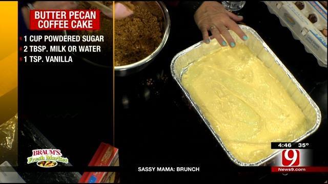 Butter Pecan Coffee Cake