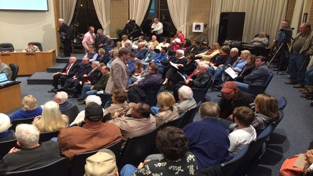 Big Turnout At Bethany City Council Meeting Regarding Possible Crematory