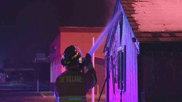 Snow Cone Stand Damaged In Fire In The Village
