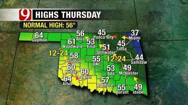 Temperatures To Warm Up In Oklahoma Later This Week