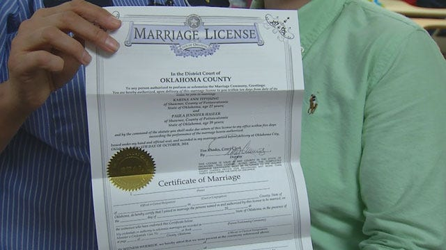 Proposed Bill Would Fire Clerks, Judges Who Issue Same Sex Marriage Licenses