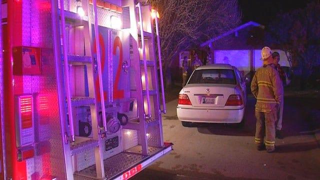Two Escape NE OKC House Fire