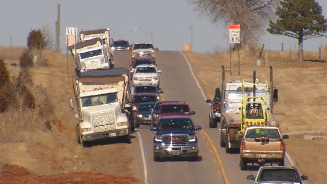 Expansion Project Begins On Busy Roadway In NW OKC