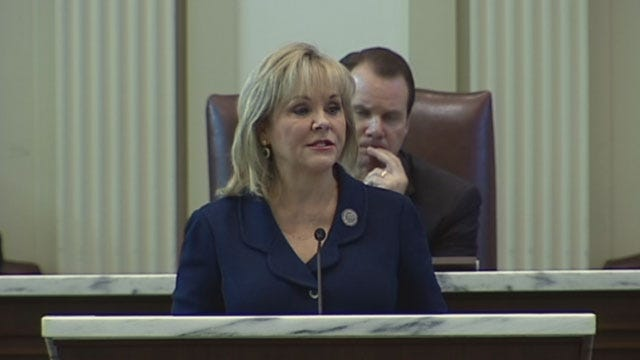 Fallin Lays Out Plan For Oklahoma In 5th State Of The State Address