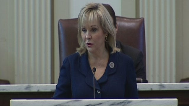 Gov. Fallin Delivers State Of The State Address