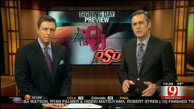 Oklahoma Ford Sports Blitz: February 1