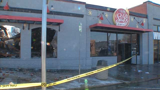 Owner Of Burned Down Burger Joint Hopes To Rebuild