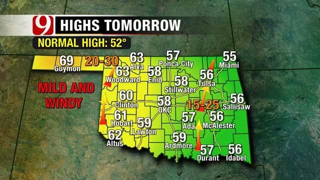 Temperatures Continue To Yo-Yo This Week In Oklahoma