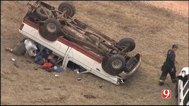 Burglary Suspect Crashes Out During Police Chase Near Shawnee