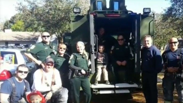 Florida Police Deploy To Save Birthday Of Boy With Autism
