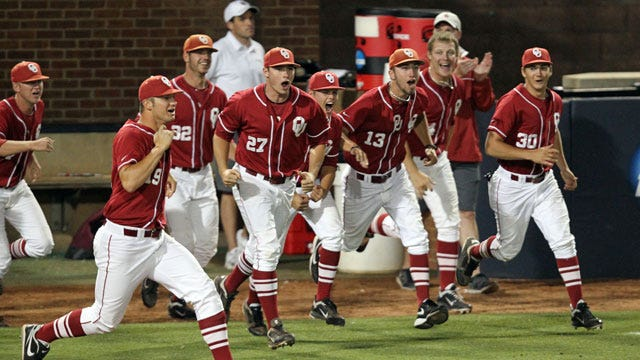 OU Baseball: Sooners Get Past Oregon State