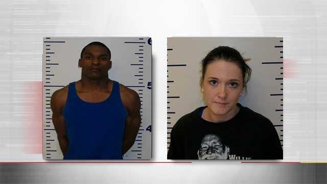 Two Arrested In Guthrie, Face Multiple Drug Charges