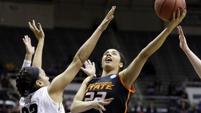 Brittney Martin Named Big 12 Player Of The Week