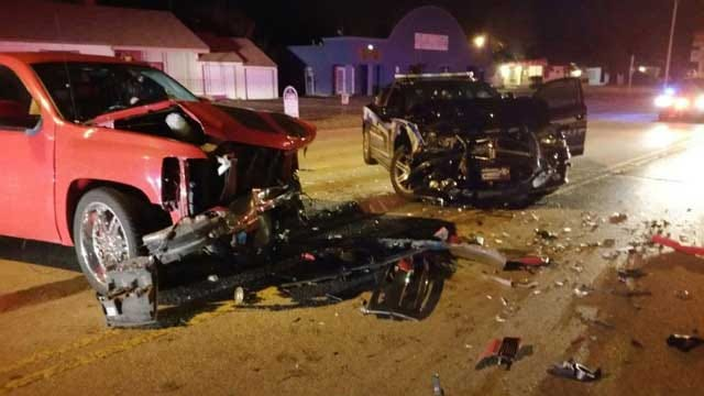 Metro Deputy Hit Head-On By Suspected Drunk Driver
