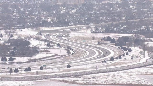 ODOT: Roads Remain Slick & Hazardous Overnight