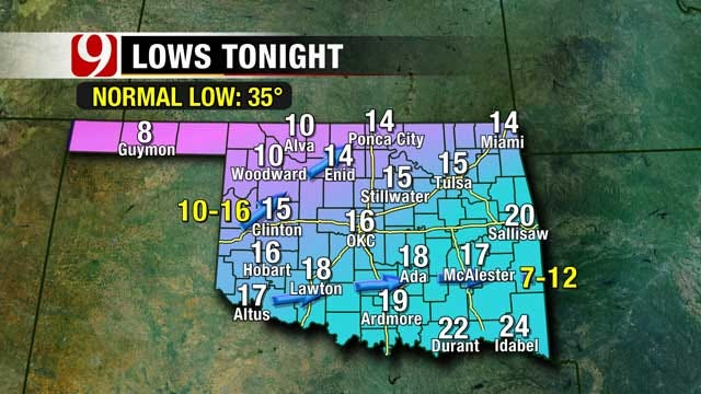 One Winter Storm Down, Another On The Way For OKC