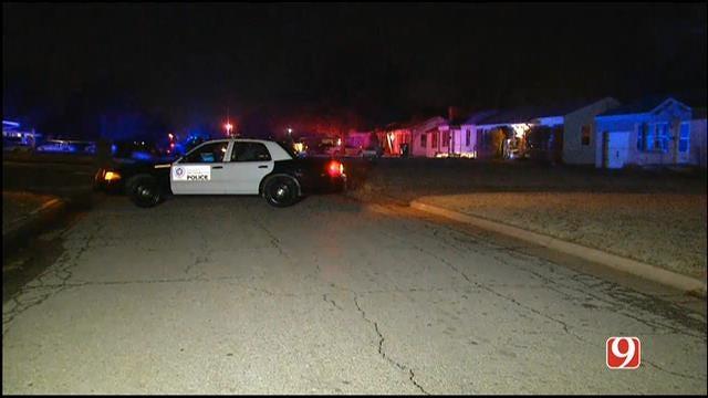 OKC Police Investigate Home Invasion & Shooting