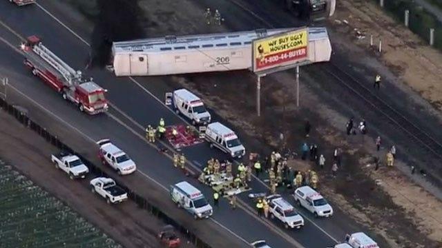 Train Derailment Near L.A. Injures At Least 30