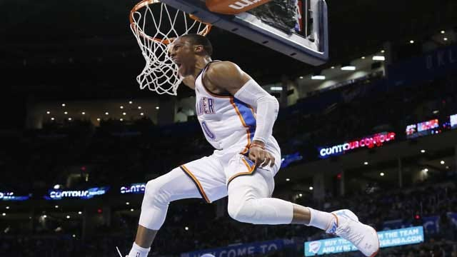 Westbrook's Triple-Double Leads Thunder Past Pacers