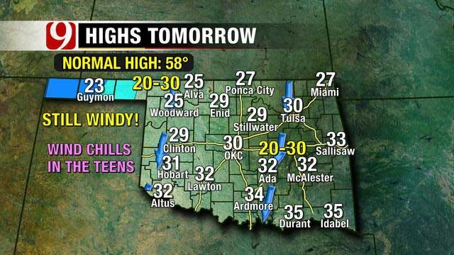 Cold Front Sweeps Through Wednesday Night