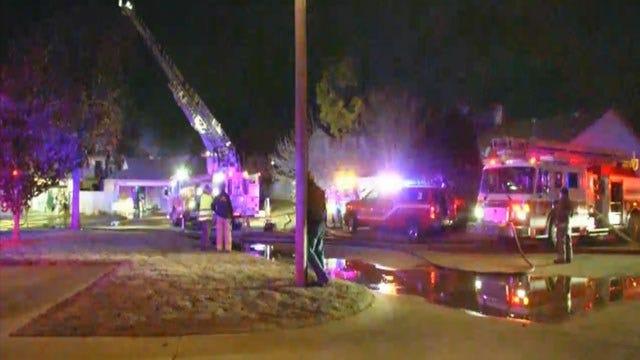 Fire Officials: No One Injured In SW OKC Duplex Fire