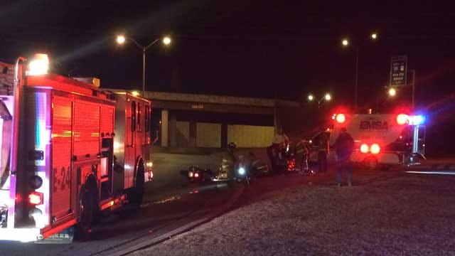 Motorcycle Accident In OKC, Two People Hospitalized
