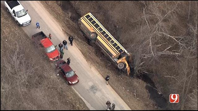 Crews Respond To Crash Involving School Bus In Seminole County