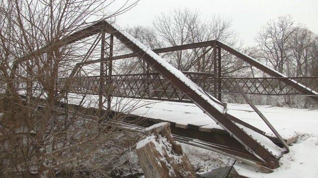 Bridge In Grady County Officially Deemed Unsafe