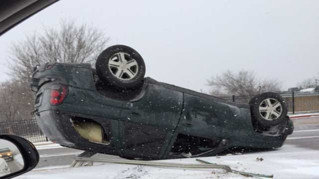 OKC Crews Respond To Accidents In Winter Weather